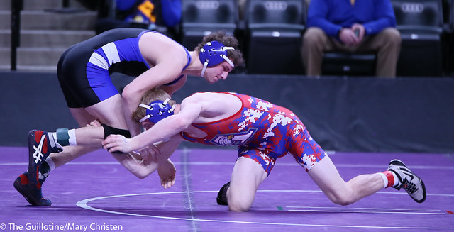 145AA - Semifinal - Peter Nelson (St Cloud Apollo) 29-3 won by decision over Isaac Haman (Kasson-Mantorville) 37-10 (Dec 3-2)