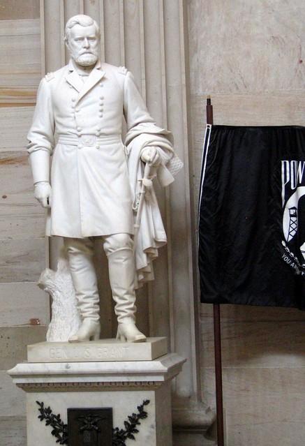 President Grant Statue US Capitol Rotunda  Flickr