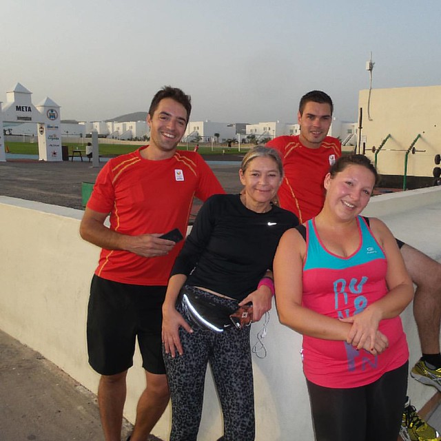 We deden zelf ook een beetje sportief in La Santa. After run photo met Lotto, Luminus en Sony Music #lanzarote2rio #supportersofyourlife Nu op de blog!