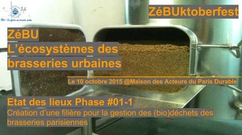 ZéBUktoberfest - Présentation état des lieux ZéBU - 10 oct. 2015