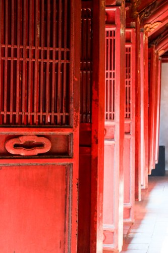 Temple of Literature. Hanoi