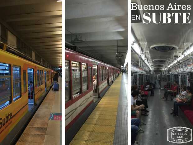subtes de Buenos Aires - buenos aires transporte publico