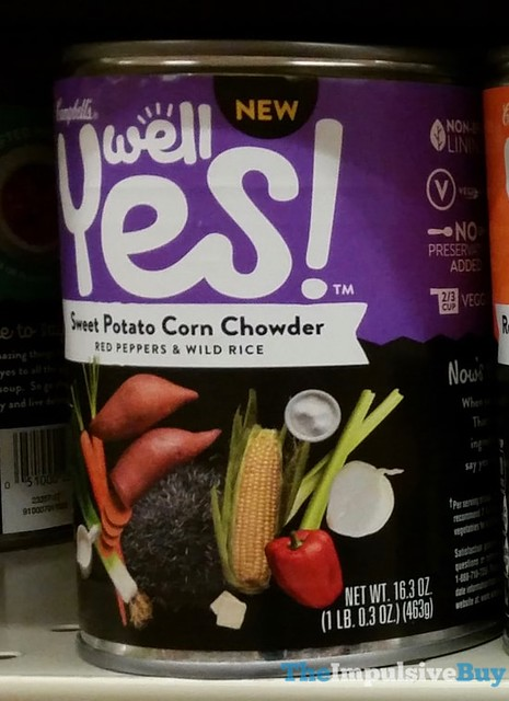 Campbell's Well Yes Sweet Potato Corn Chowder