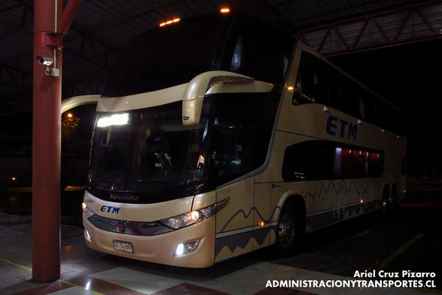 Buses ETM - Temuco - Marcopolo Paradiso 1800 DD / Scania (GTTL69)