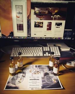 The Ardmore Whisky Tweet Tasting
