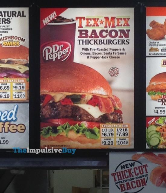 Carl's Jr. Tex Mex Bacon Thickburgers