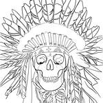 Homework for next week for my good friend Keith. Sleeve number two is go! #ipadpro #sketch #redindian #skull #blackwork #blackandgreytattoo