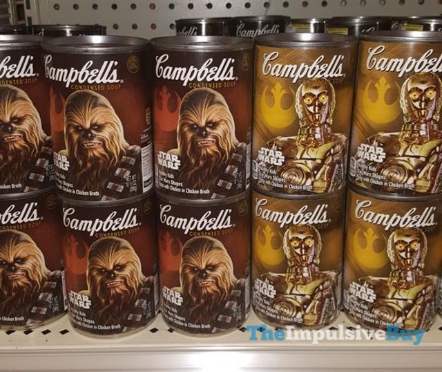 Campbell's Star Wars Condensed Soup