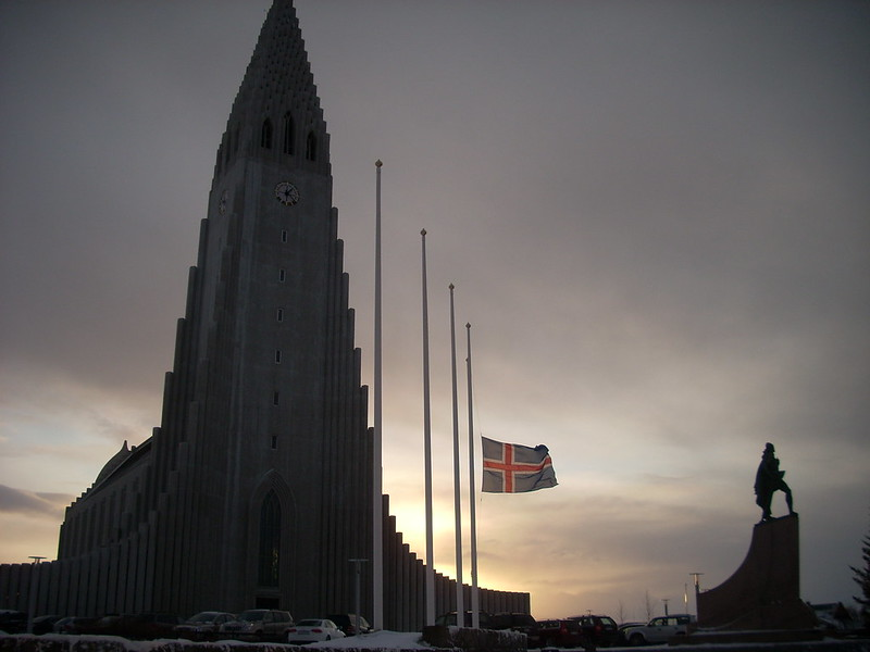 La catedral de Reykjavik