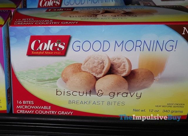 Cole's Good Morning! Biscuit & Gravy Breakfast Bites