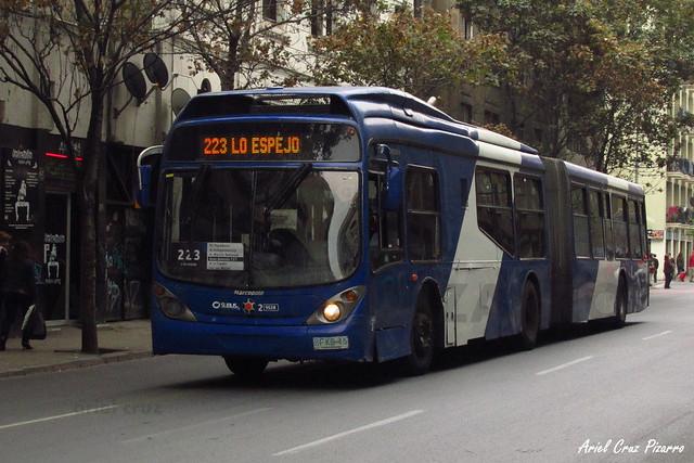 Transantiago - Subus Chile - Marcopolo Gran Viale / Volvo (BFKB45)