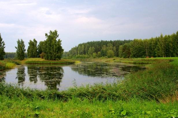 Усадьба Петровское, Пушкинские горы, Россия