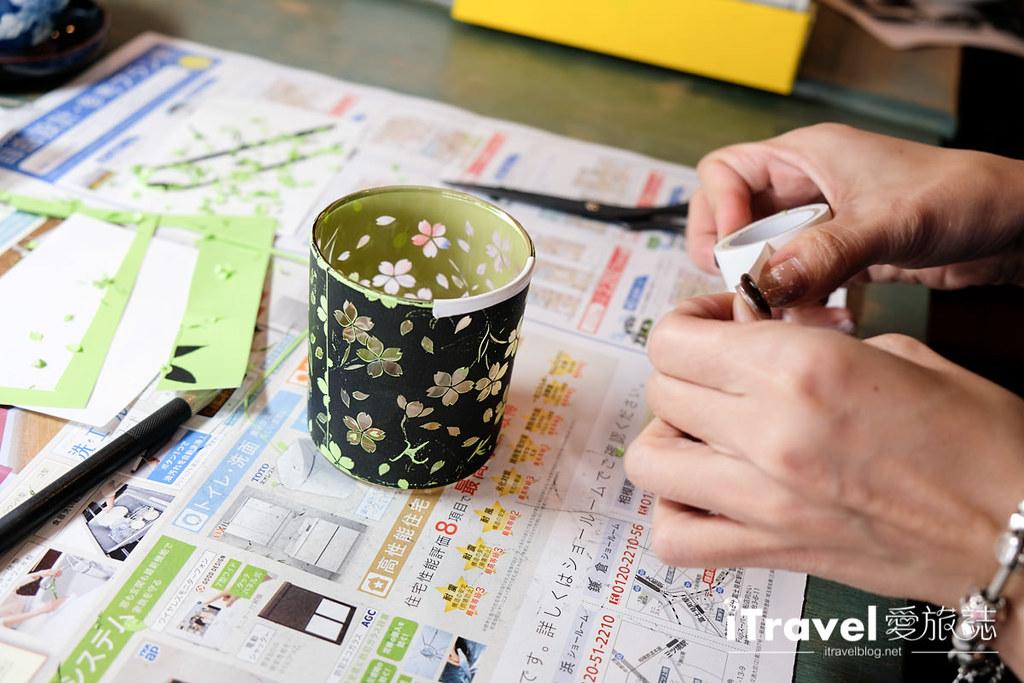 东京手作课程 喷砂玻璃工艺体验 48