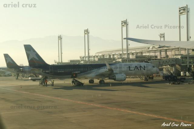 LAN - A321 CCBEC - SCL
