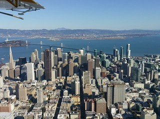 Skyline of San Francisco  snap shot by HTC a9