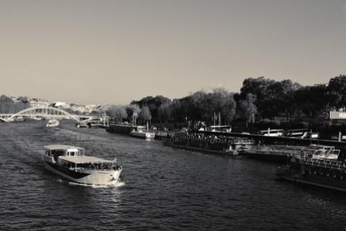 Boat on the Seine