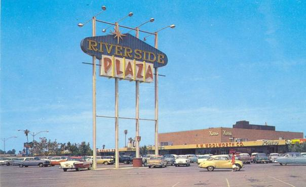 Riverside Plaza - 3545 Central Avenue, Riverside, California U.S.A. - 1950s
