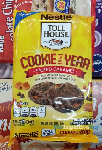 Nestle Toll House Cookie of the Year Salted Caramel Cookies