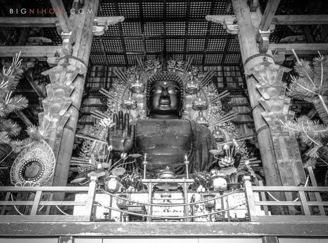 Daibutsu from Todai-ji