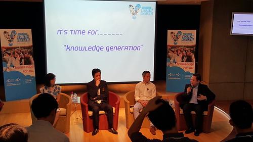 การเสวนาหัวข้อ It's time for knowledge generation