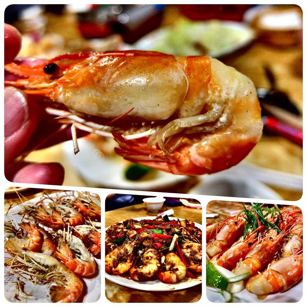 全海岸活蝦之家-華夏店-聚餐宵夜的好所在-高雄左營美食   沙拉麵@田園生活