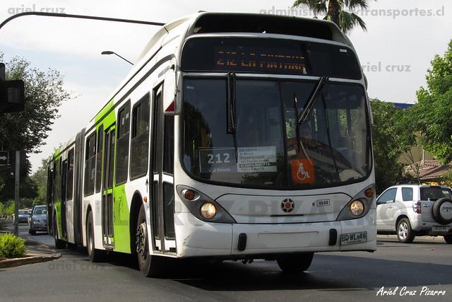 Transantiago - Subus Chile - Marcopolo Gran Viale / Volvo (BDWL46)