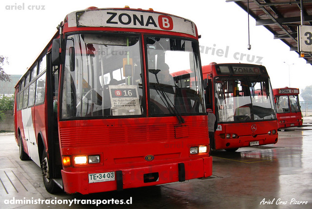 Transantiago - Buses Gran Santiago - Dimex Casabus (TE3403)