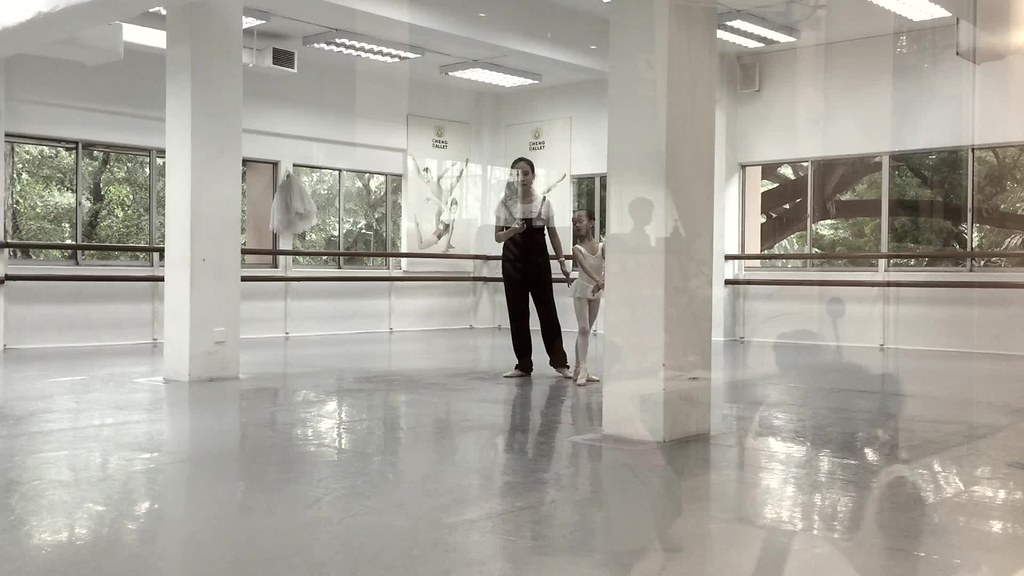 her second private class.