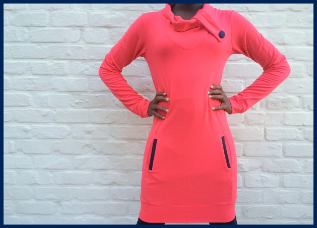 sweater dress by stannel