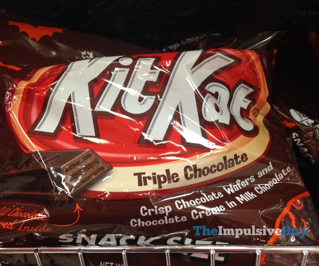 Kit Kat Snack Size Triple Chocolate