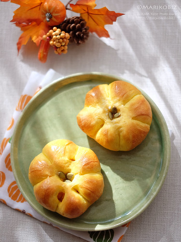 かぼちゃあんパン 20151014-DSCF0736