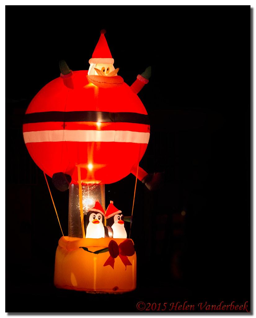 Hot Air Santa
