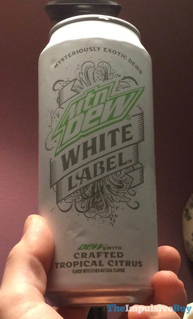 SPOTTED ON SHELVES: Mtn Dew White Label