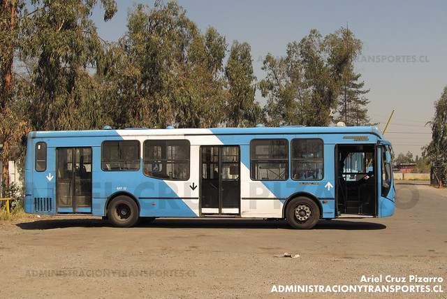 Transantiago - Unitran - Busscar Urbanuss Pluss - Mercedes Benz (BJFP52)