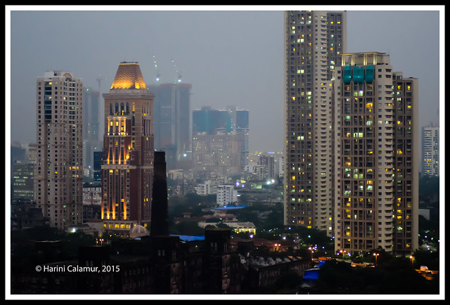 Dusk approaches - mumbai