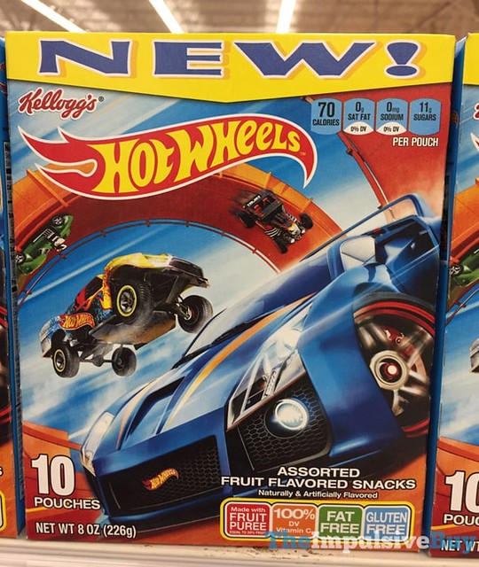 Kellogg's Hot Wheels Fruit Snacks