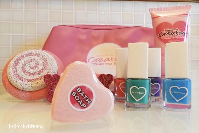 creative time to spa - trattamento di bellezza per bambine