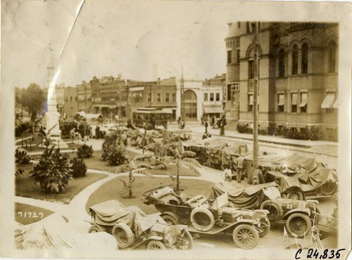 1911 Glidden Tour in Anderson