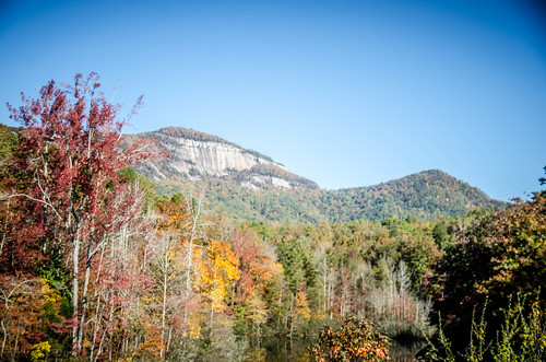 Table Rock with Fall Leaves-006