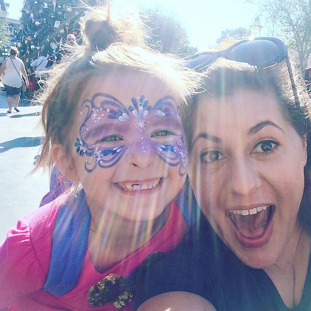My niecey-poo is here in Disneyland! Yay!