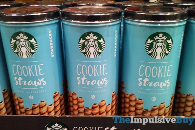 Starbucks Cookie Straws