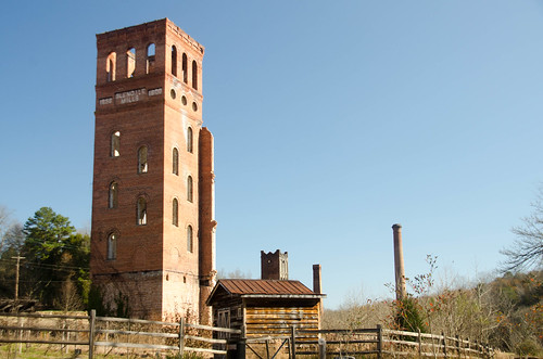 Glendale Mill Ruins-003