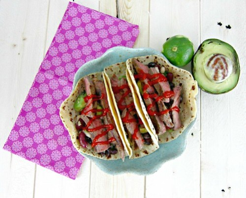 Coconut Lime Steak Tacos