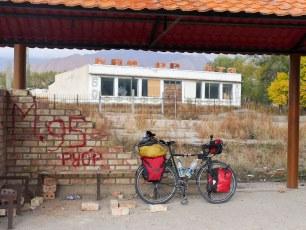 Next to Lake Toktogul | Jan, 2016