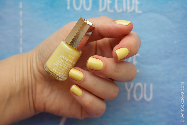 04 Mavala #179 Lemon Cream