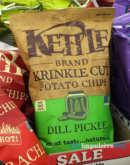 Kettle Brand Dill Pickle Krinkle Cut Potato Chips