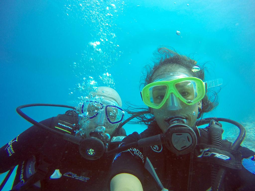 Diving Selfie