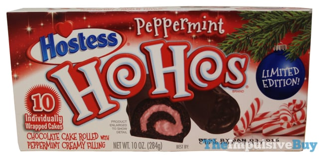 Hostess Limited Edition Peppermint Ho Hos