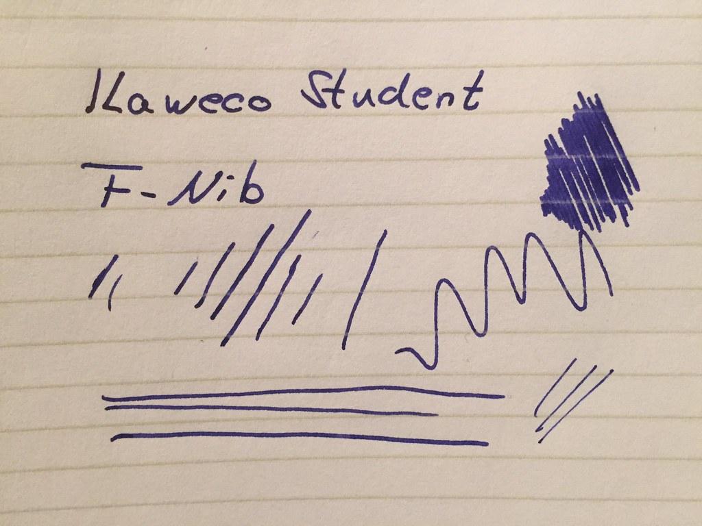 "Kaweco ""Student"" fountain pen (vintage blue)"