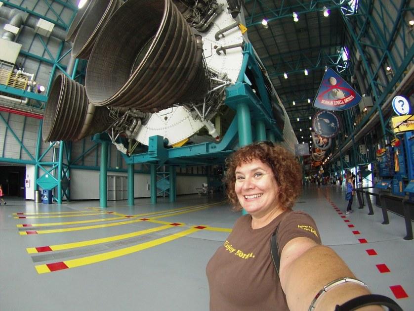 #Selfie - Saturn V Rocket, Saturn V Rocket, Kennedy Space Center Visitor Complex, Florida, Oct. 10, 2015